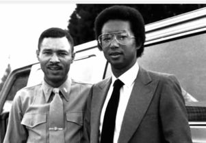 Johnnie and Arthur Ashe