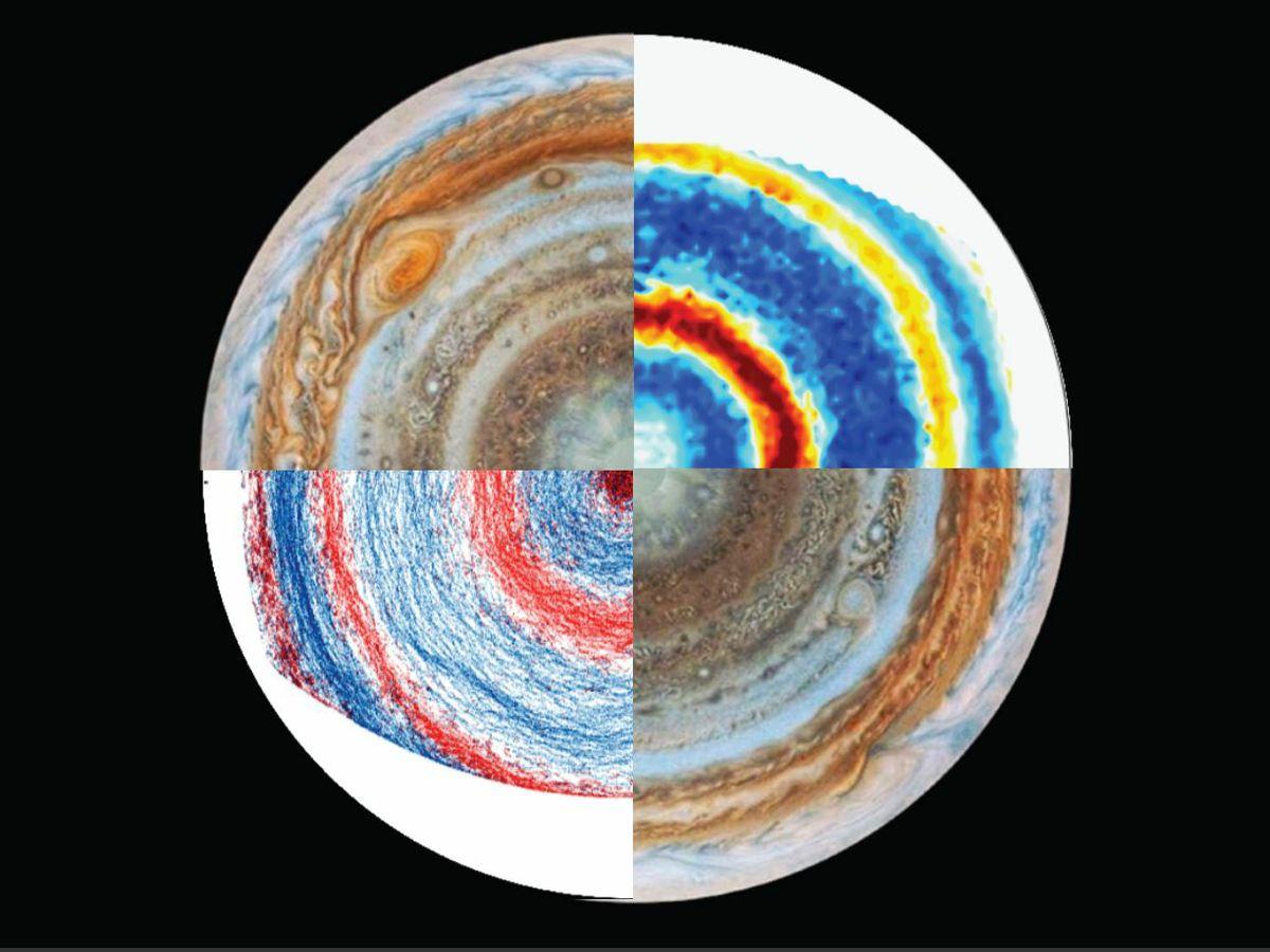 Jupiter and lab images