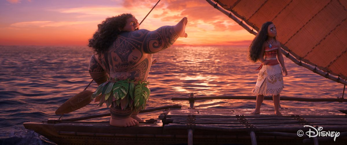 "Math makes water realistic in ""Moana"""