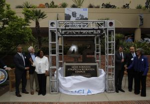 Jackie Robinson monument unveiling