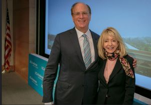 Laurence D. Fink and Judy Olian