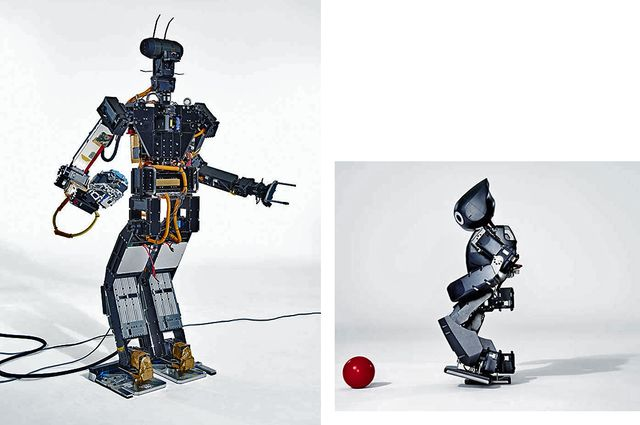 how to make a andro humanoid robot