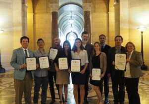 UCLA Extension's award-winning landscape architecture class