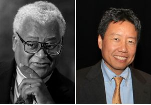The Rev. James Lawson Jr. and Kent Wong