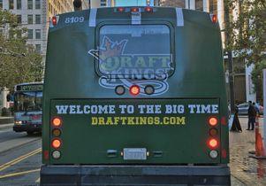 Draft Kings bus ad