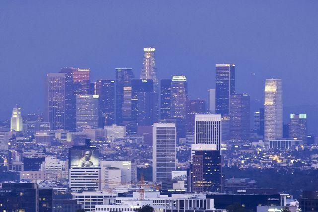 L.A. skyline
