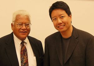 Rev. James Lawson Jr. and Kent Wong