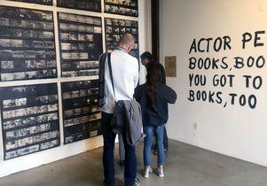 Browsing Robert Frank exhibition