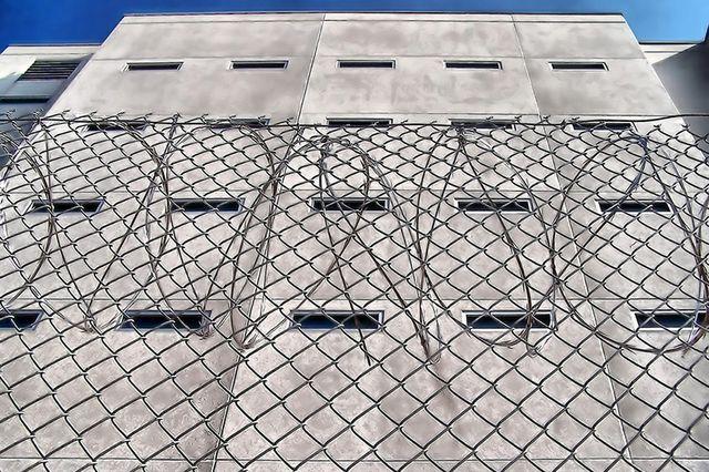 Jail exterior
