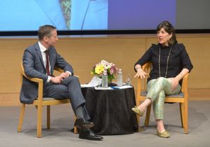 Kal Raustiala and Christiane Amanpour