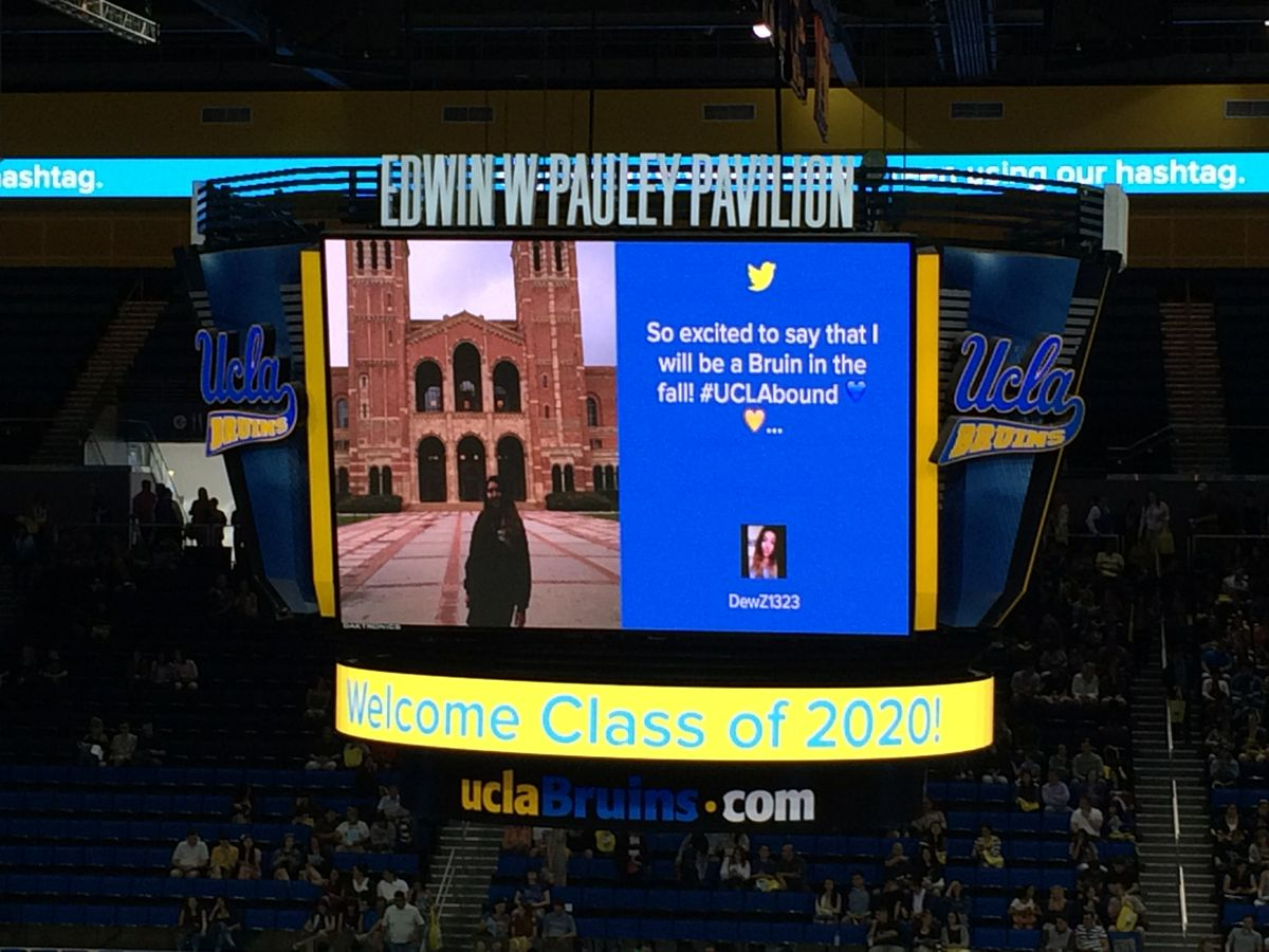 Bruin Day Pauley Pavilion