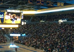 Bruin Day Pauley Pavilion crowd