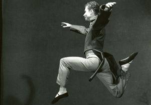 """Martha Graham and Merce Cunningham in """"Letter to the World"""""""