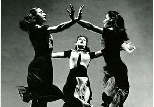 "Martha Graham Company dancers in ""Celebration,"" 1937"