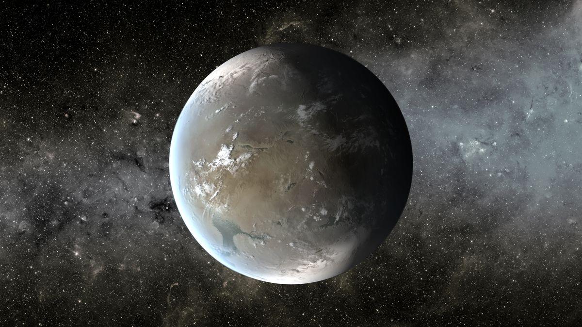 Artist's conception of Kepler-62f