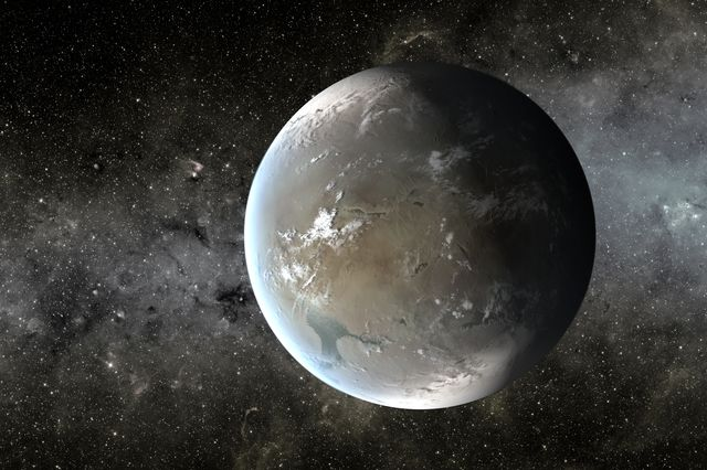 Artistu0027s Conception Of Kepler 62f