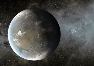 Artist's conception of Kepler-62f