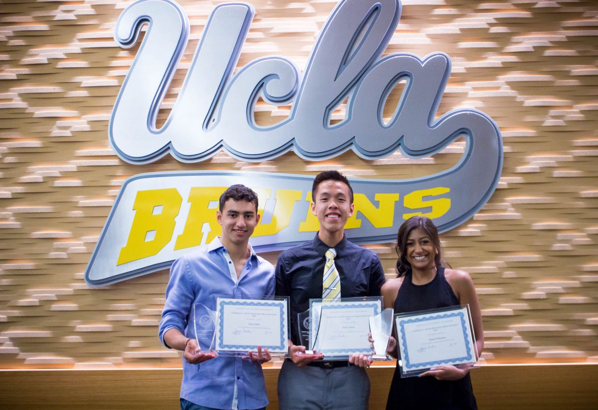 three ucla students recognized for exemplary community