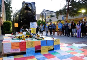 Memorial at the Bruin