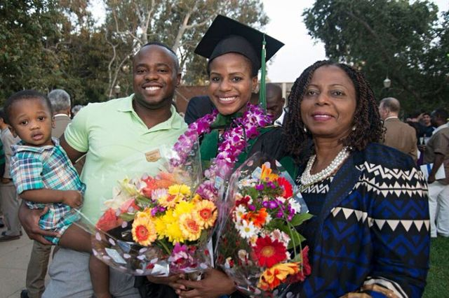 Family with new UCLA doctor