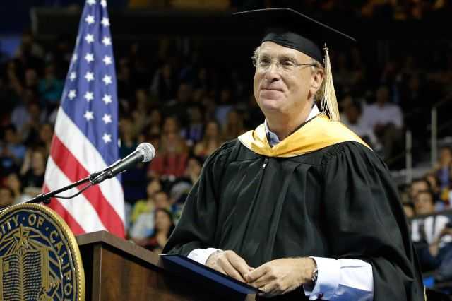 Laurence Fink at 2016 commencement