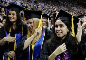 UCLA College graduates