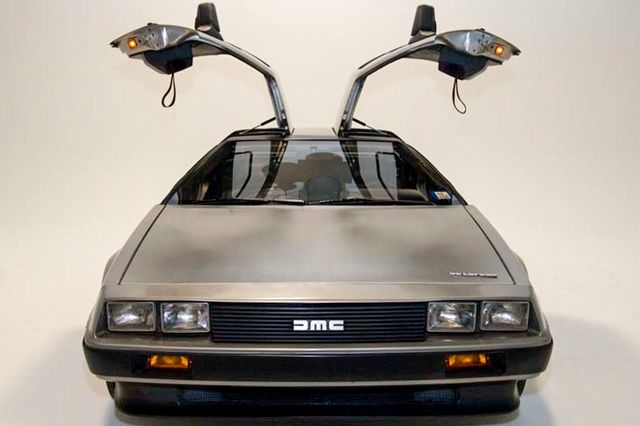 1980s DeLorean DMC-12