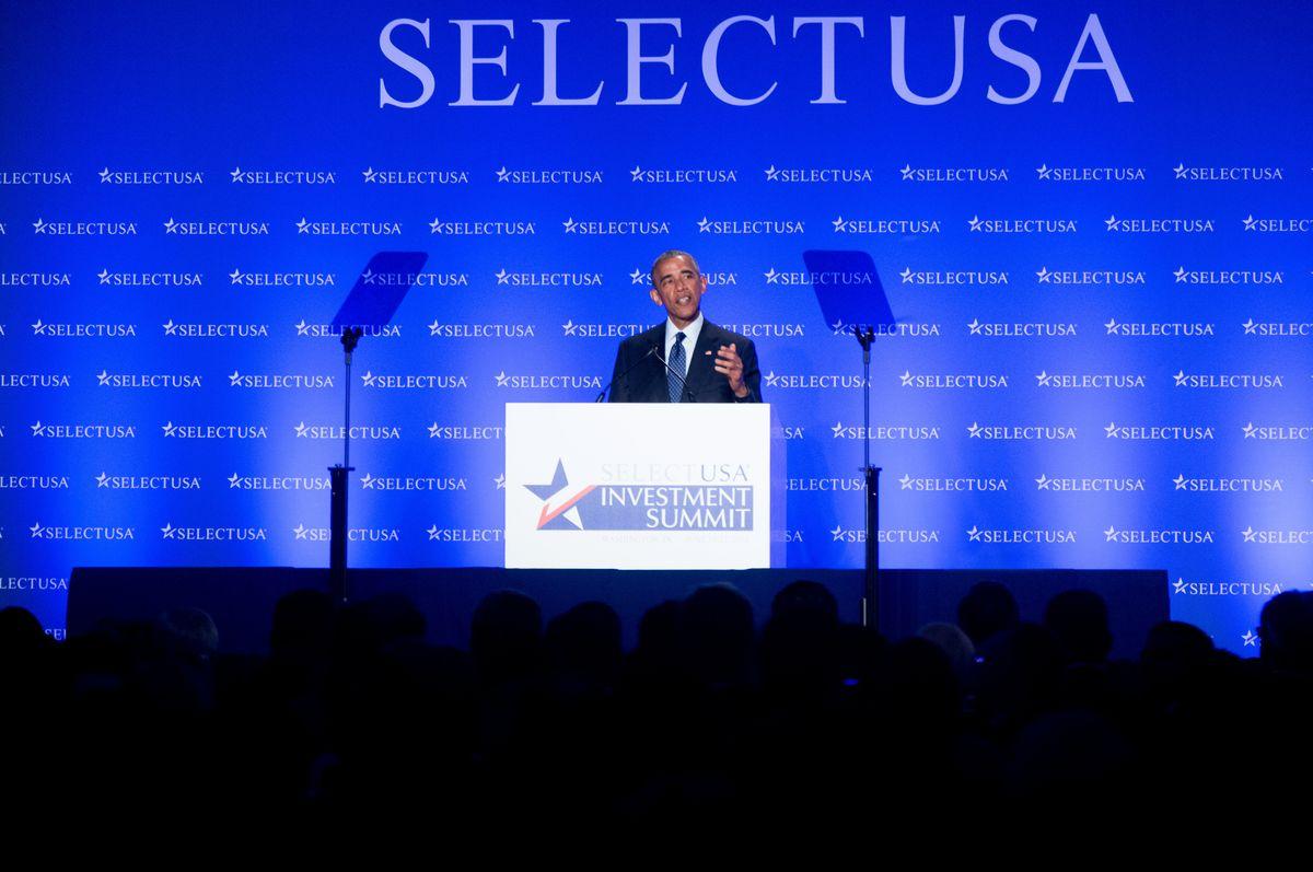 President Obama at SelectUSA summit