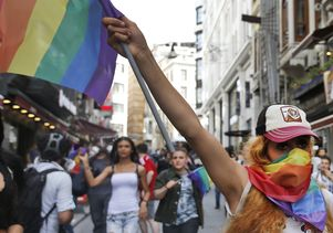 LGBT protest in Turkey