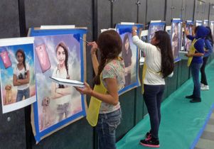Student portraits Baca Academy