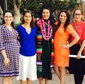 Family at the David Geffen School of Medicine at UCLA commencement