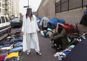 Ted Hayes on Skid Row