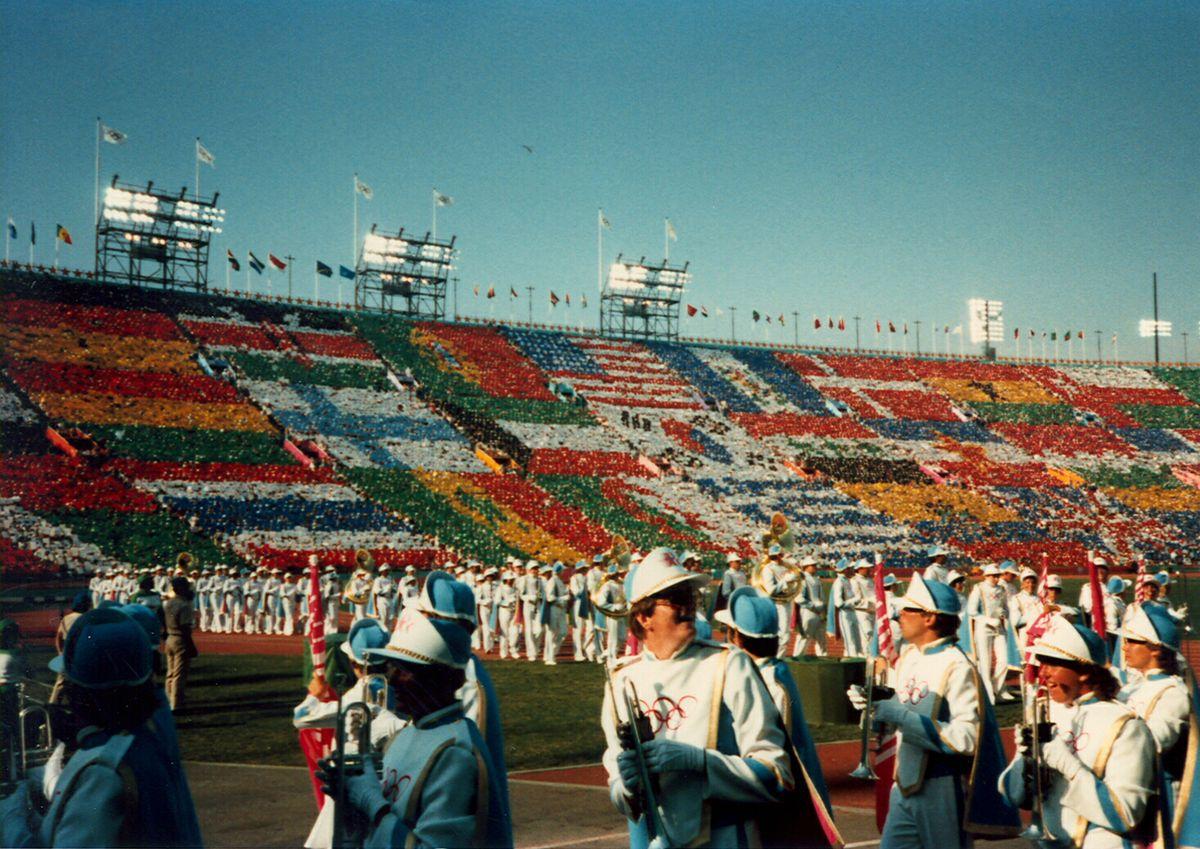 UCLA Marching Band 1984 Olympics