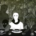 "Belkis Ayón, ""La Cena"" (The Supper), 1991"