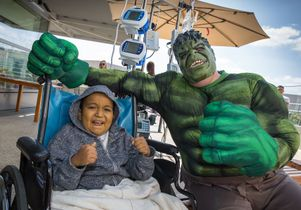 Mattel patient and the Hulk