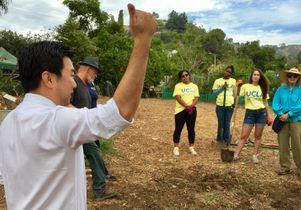 Volunteer Day 2016 at Wattles Farm