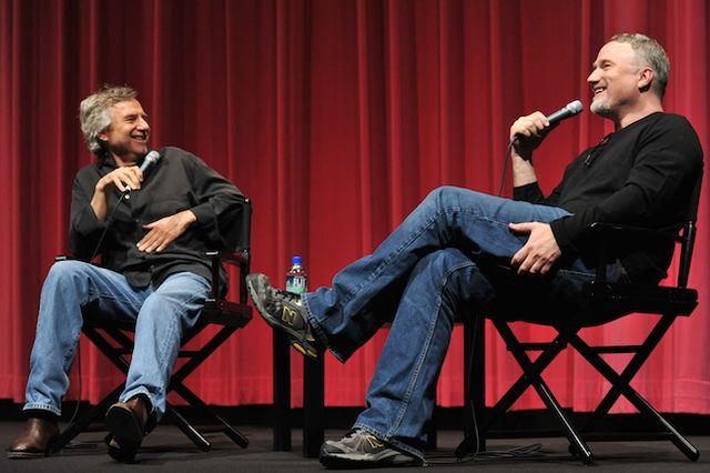 Curtis Hanson and David Fincher