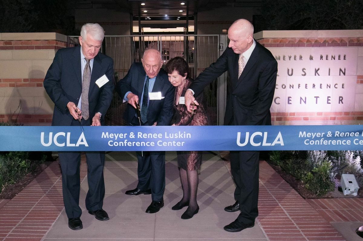 Luskin Conference Center opening