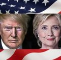 Trump-Clinton-flag