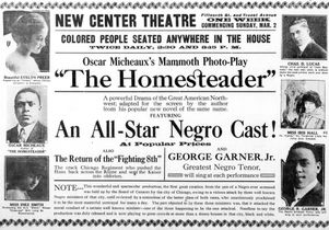 The Homesteader newspaper ad