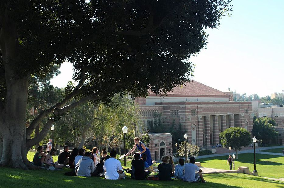 UCLA outdoor class
