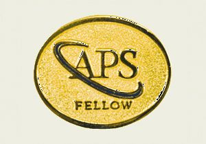American Physical Society fellow logo