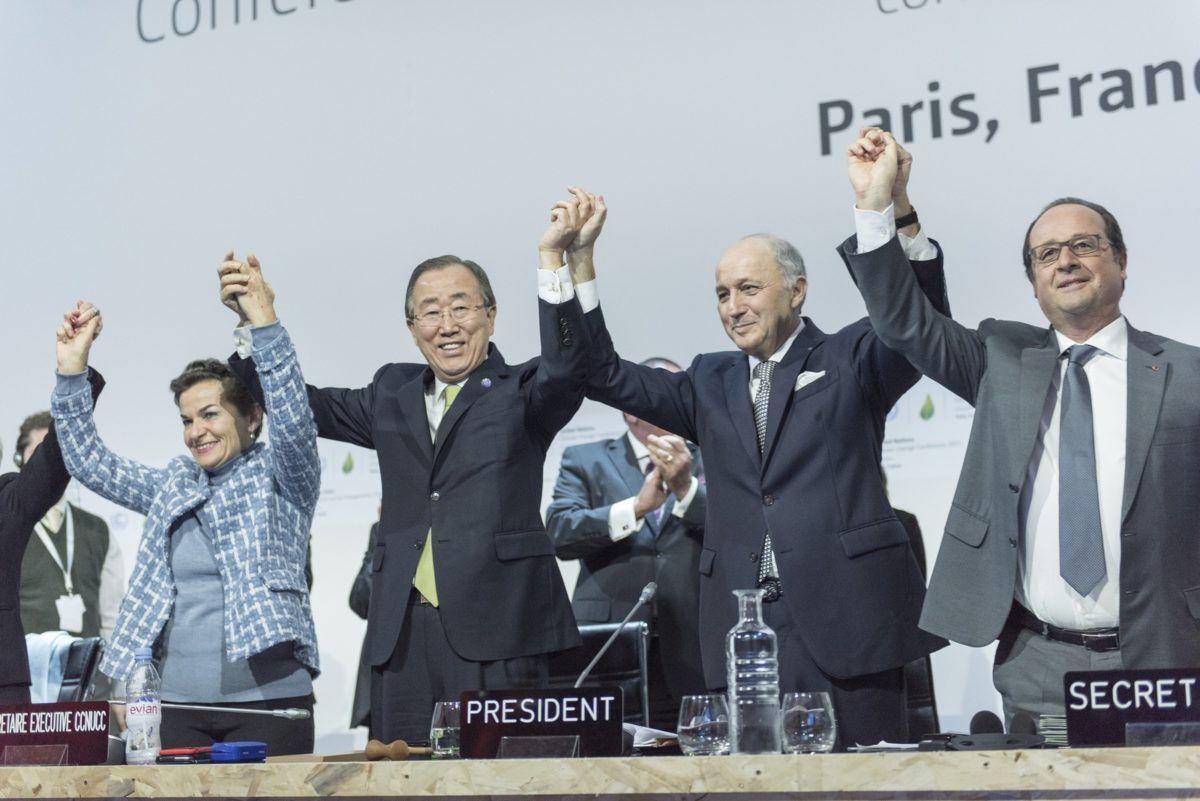 Paris Agreement in 2015
