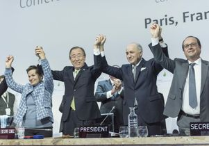 Paris Agreement in 2015