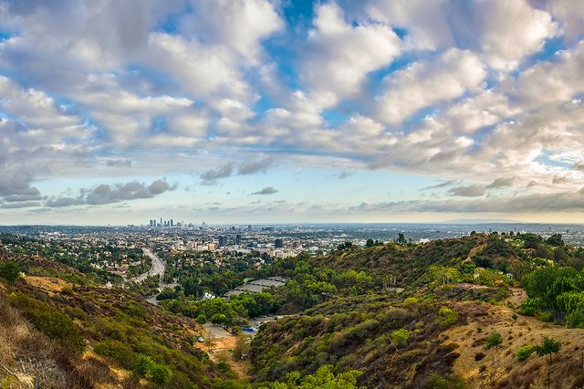 Los Angeles from the Hollywood Bowl Overlook
