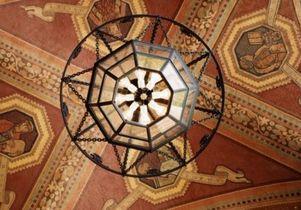 UCLA tile mosaic