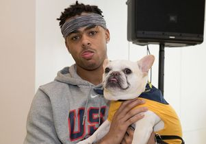 D'Angelo Russell with Coogee