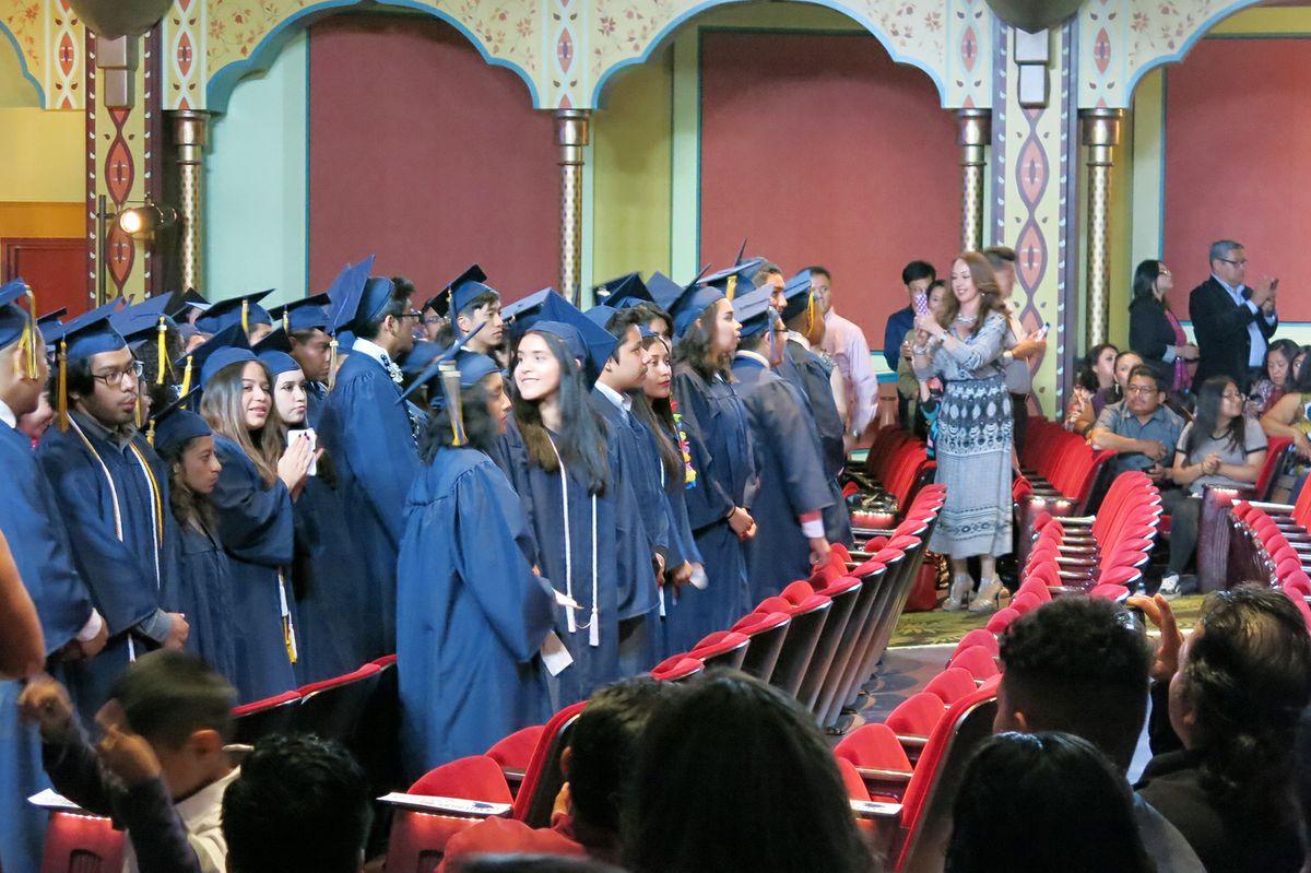 2016 graduates of UCLA Community School