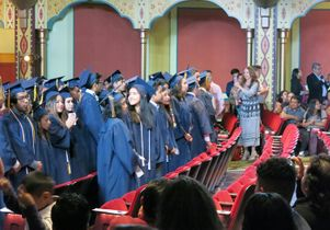 2016 graduates of UCLA Community School