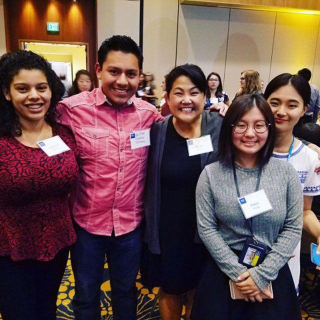 Joselyne Franco, Nestor Caytano-Cardenas, Sarah Bang, Ye Bin Yang and Na Yeon Kim